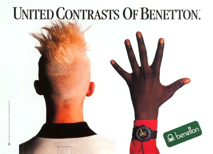 1985 Unitd contrasts of Benetton A1