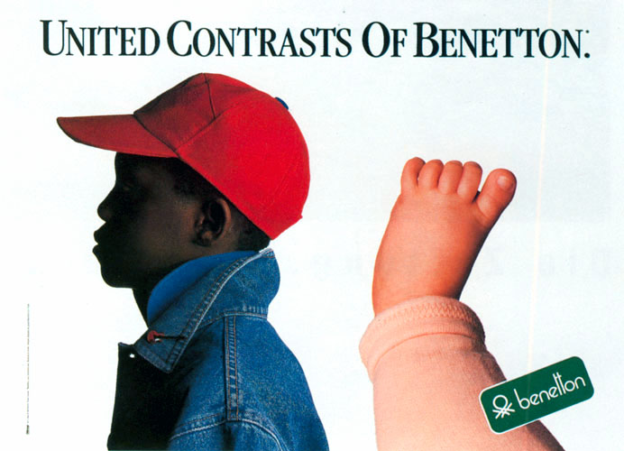 1985 Unitd contrasts of Benetton A4