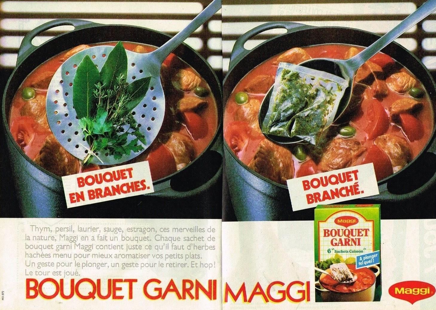 1986 Maggi Le Bouquet Garni