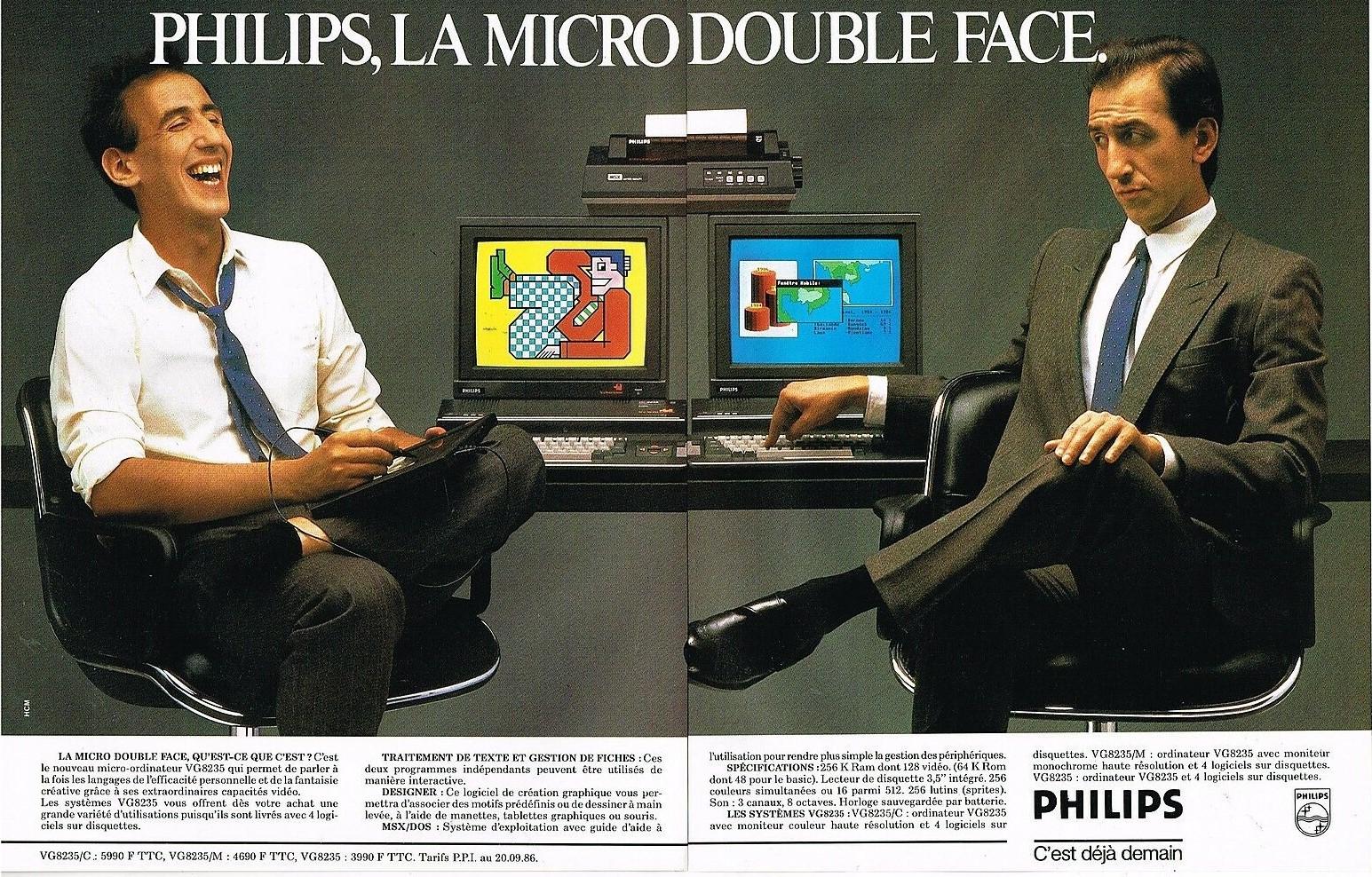 1986 Micro Ordinateurs Philips