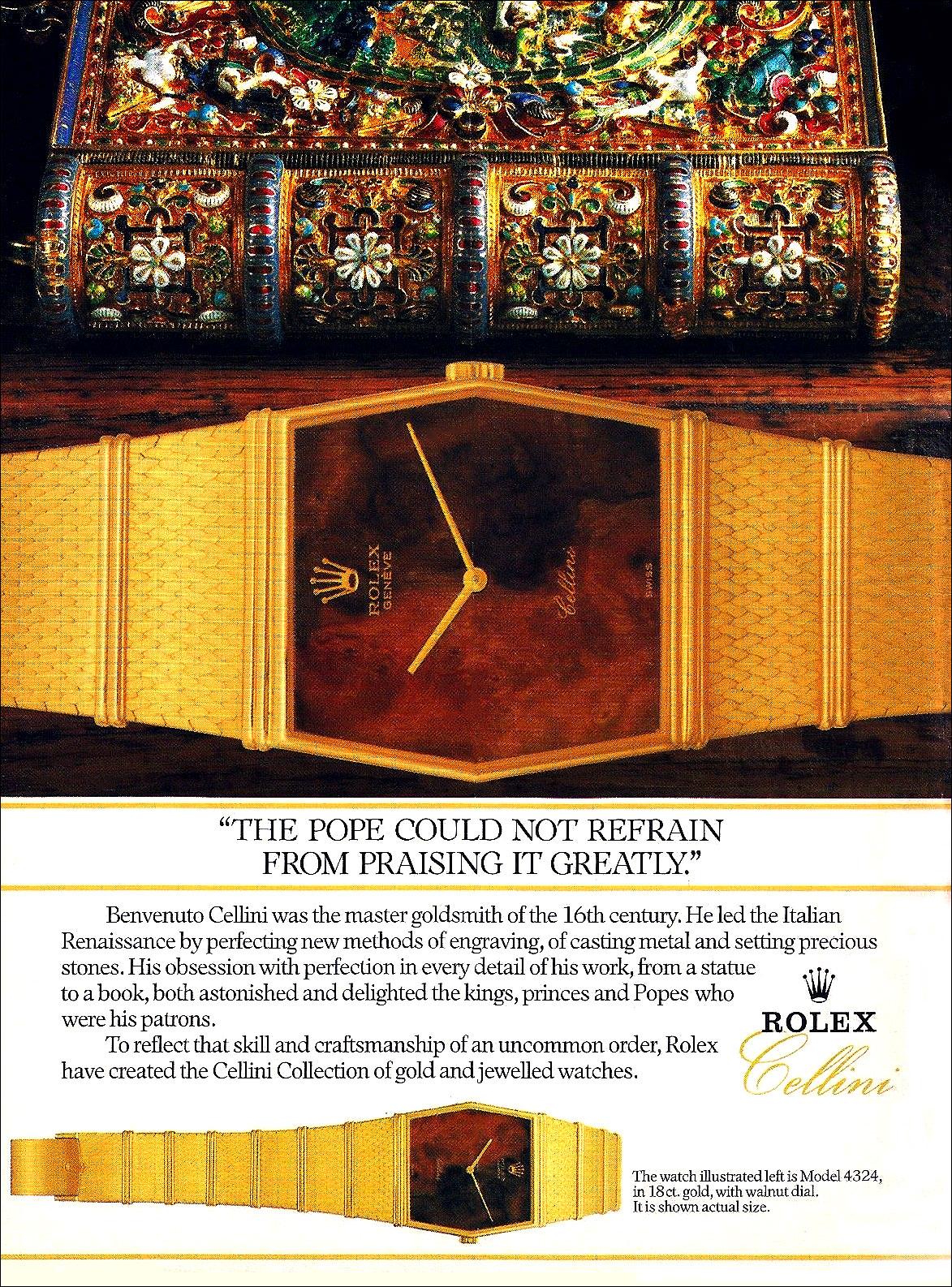 1986 Rolex Cellini A3
