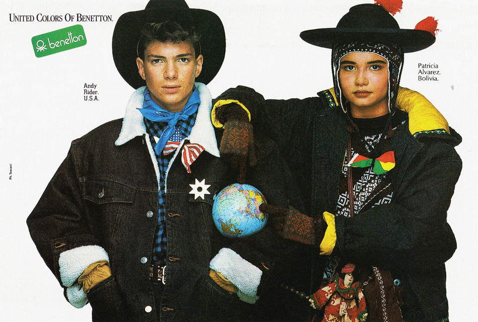 1986 United Colors of Benetton B2