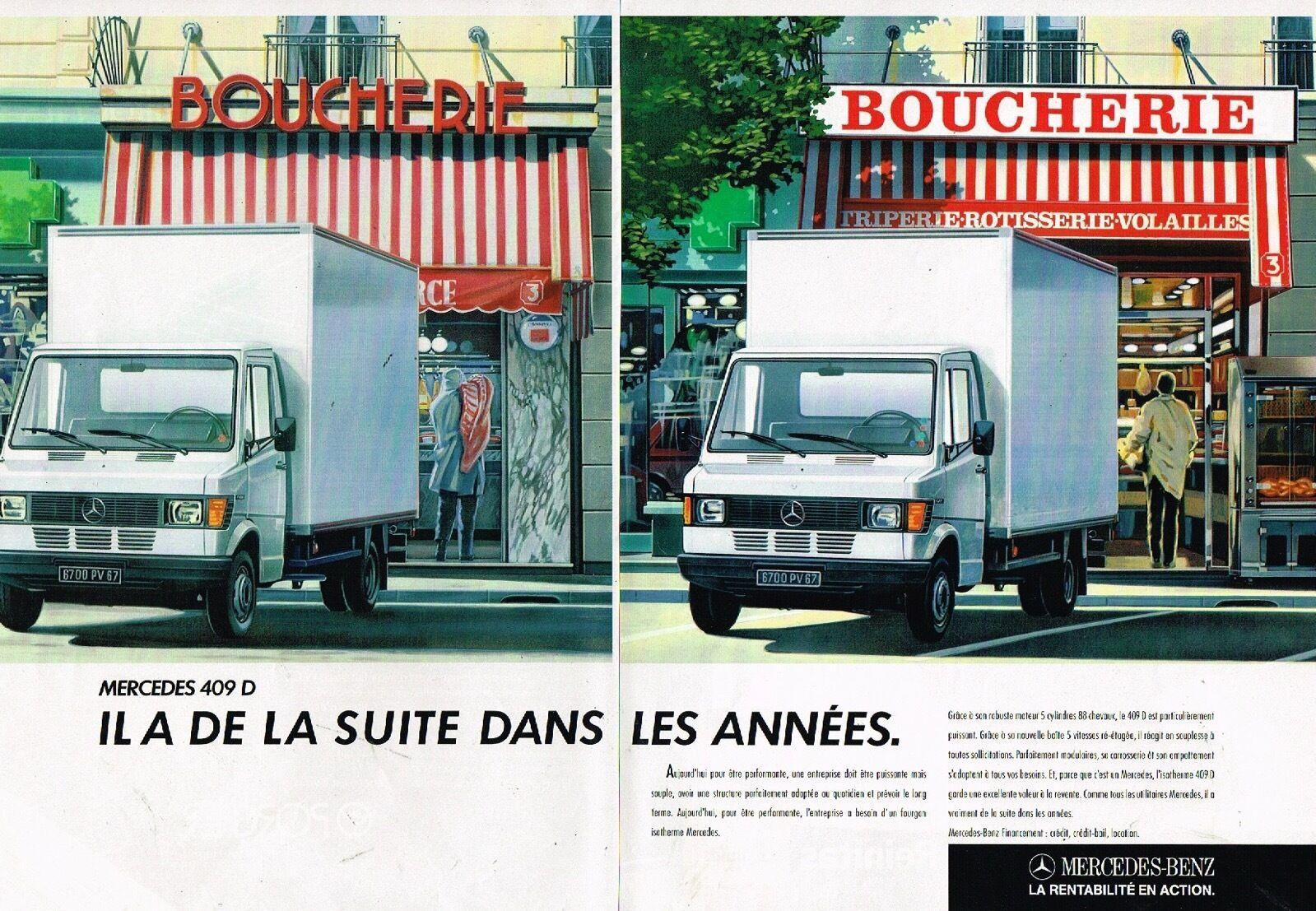 1987 camion Mercedes 409 D