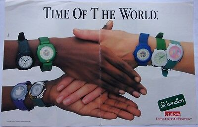 1988 United colors of Benetton A1 montres