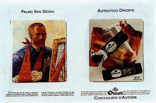 1989 Faux Van Gogh. Vrai Droste A1.