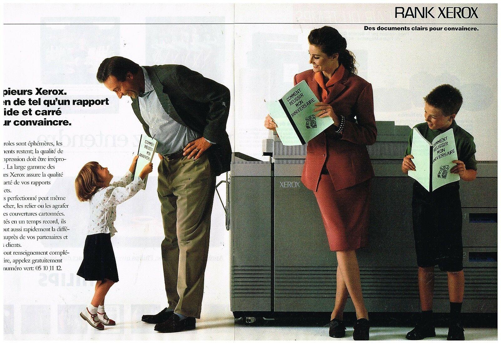 1989 Les Copieurs Rank Xerox