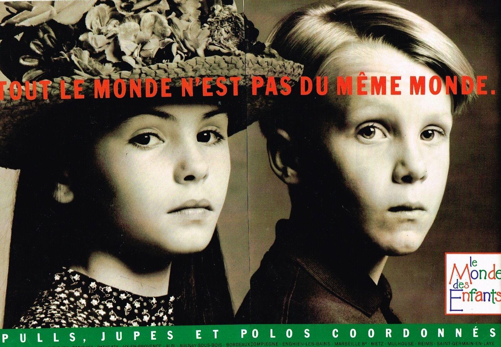 1989 Les Vetements Le Monde des Enfants