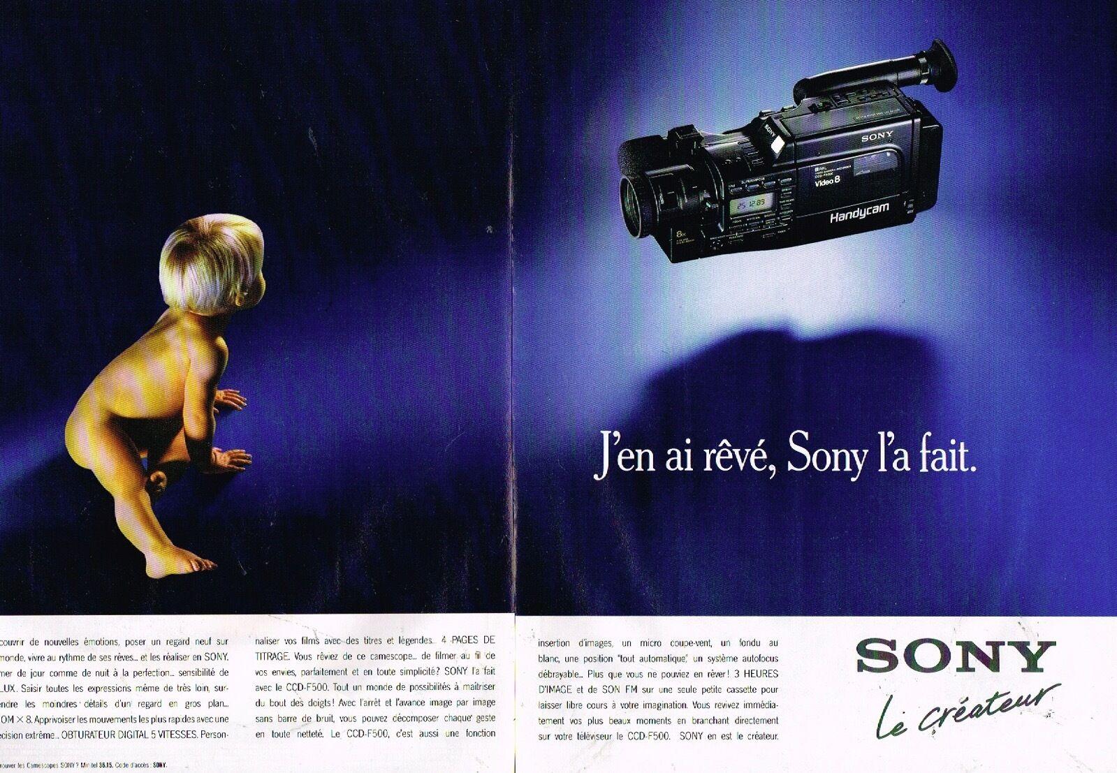 1989 Sony Camescope Handycam