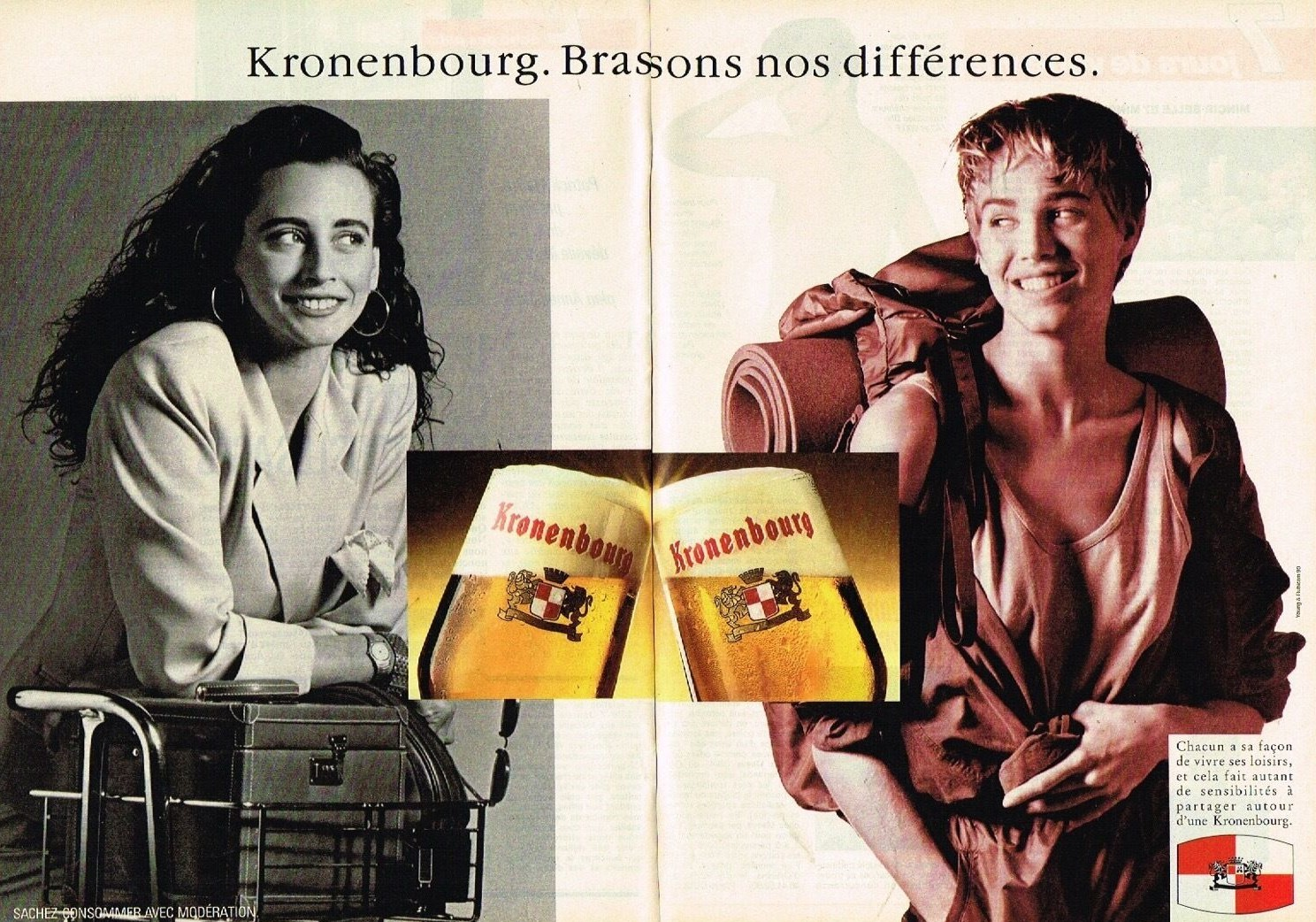 1990 La Biere Kronenbourg A3