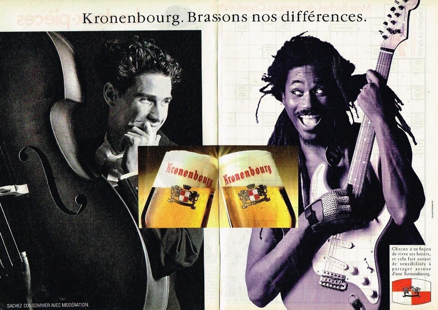 1990 La Biere Kronenbourg A4