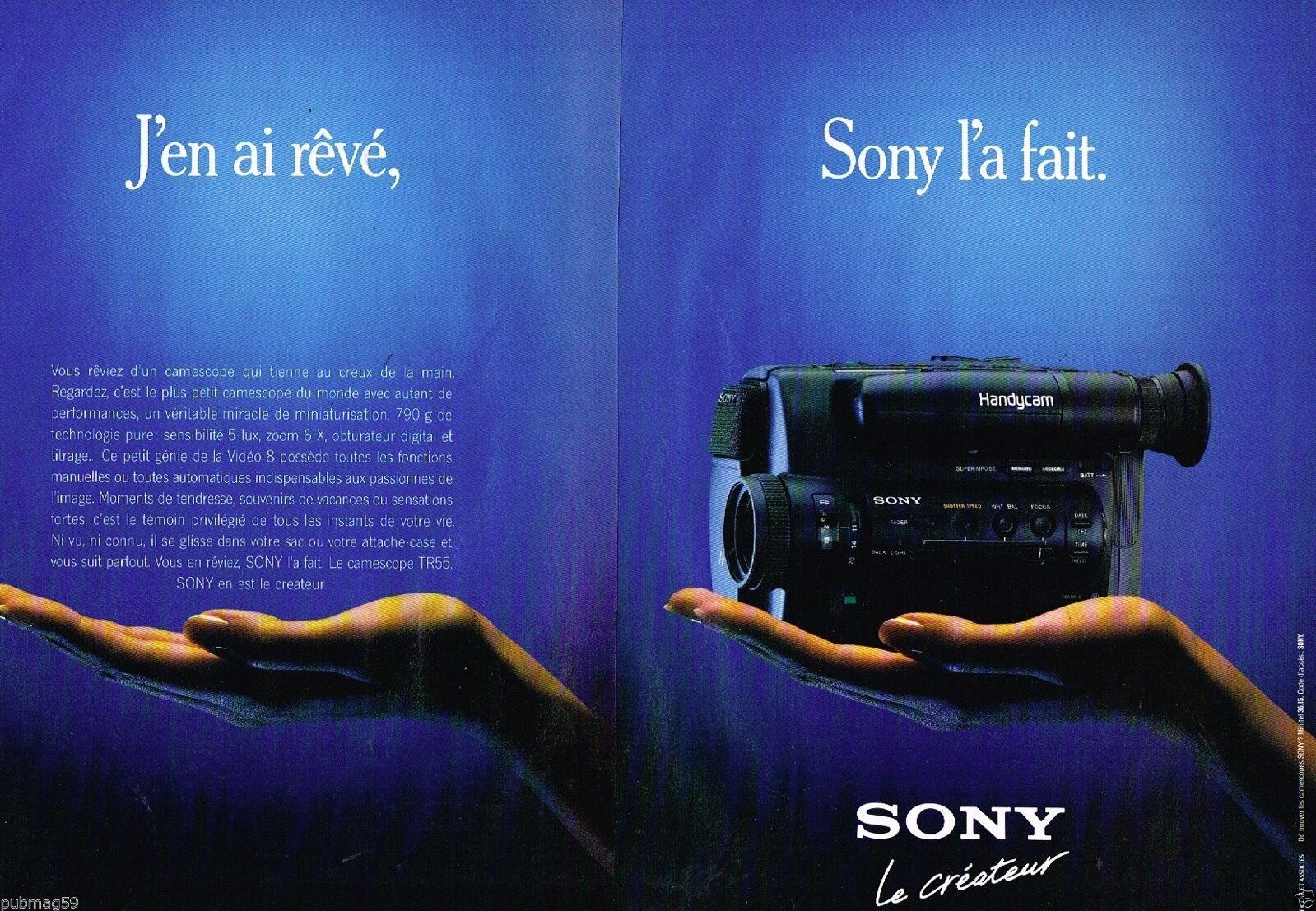 1990 Sony Camescope TR55