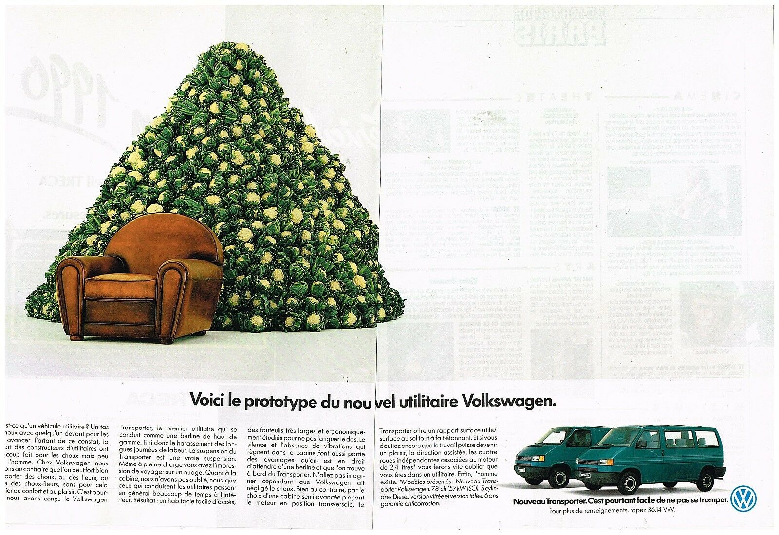 1990 Volkswagen utilitaire Transporter
