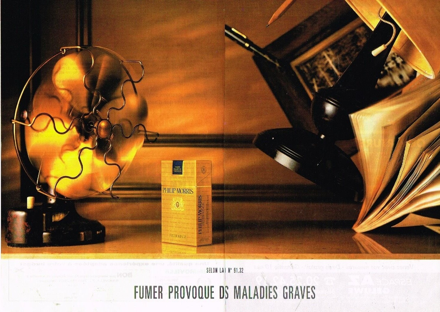 1991 Cigarettes Philip Morris