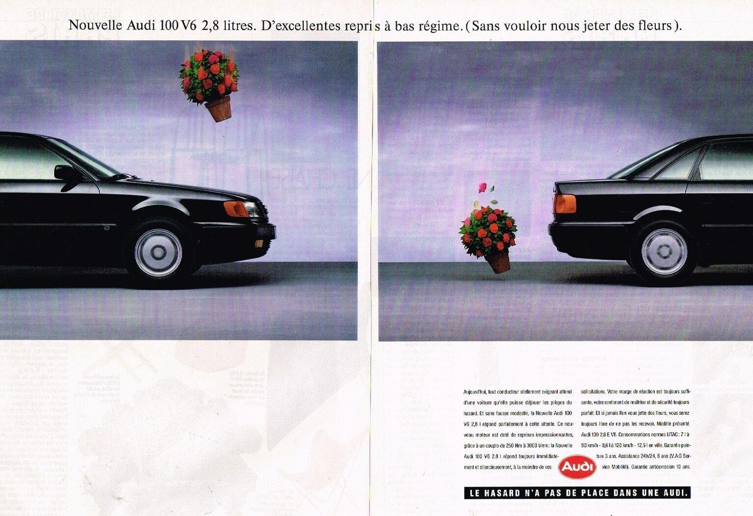 1991 Nouvelle Audi 100 V6 2,8