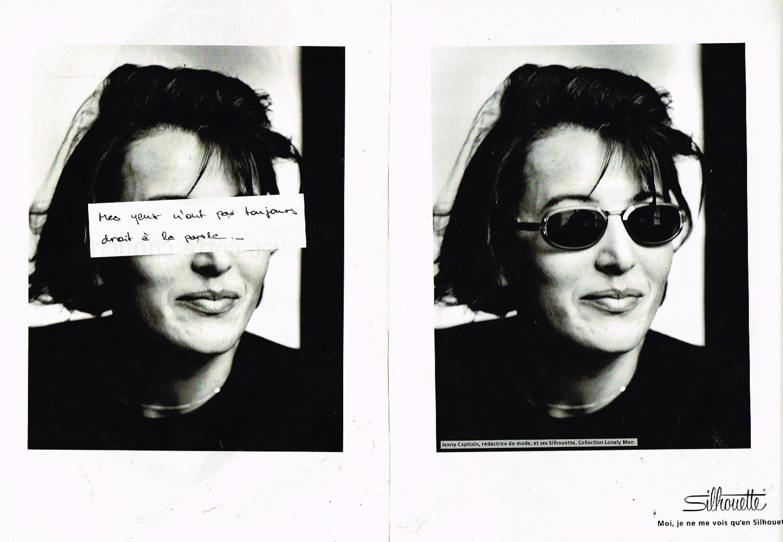1991 Opticien les Lunettes Silhouette