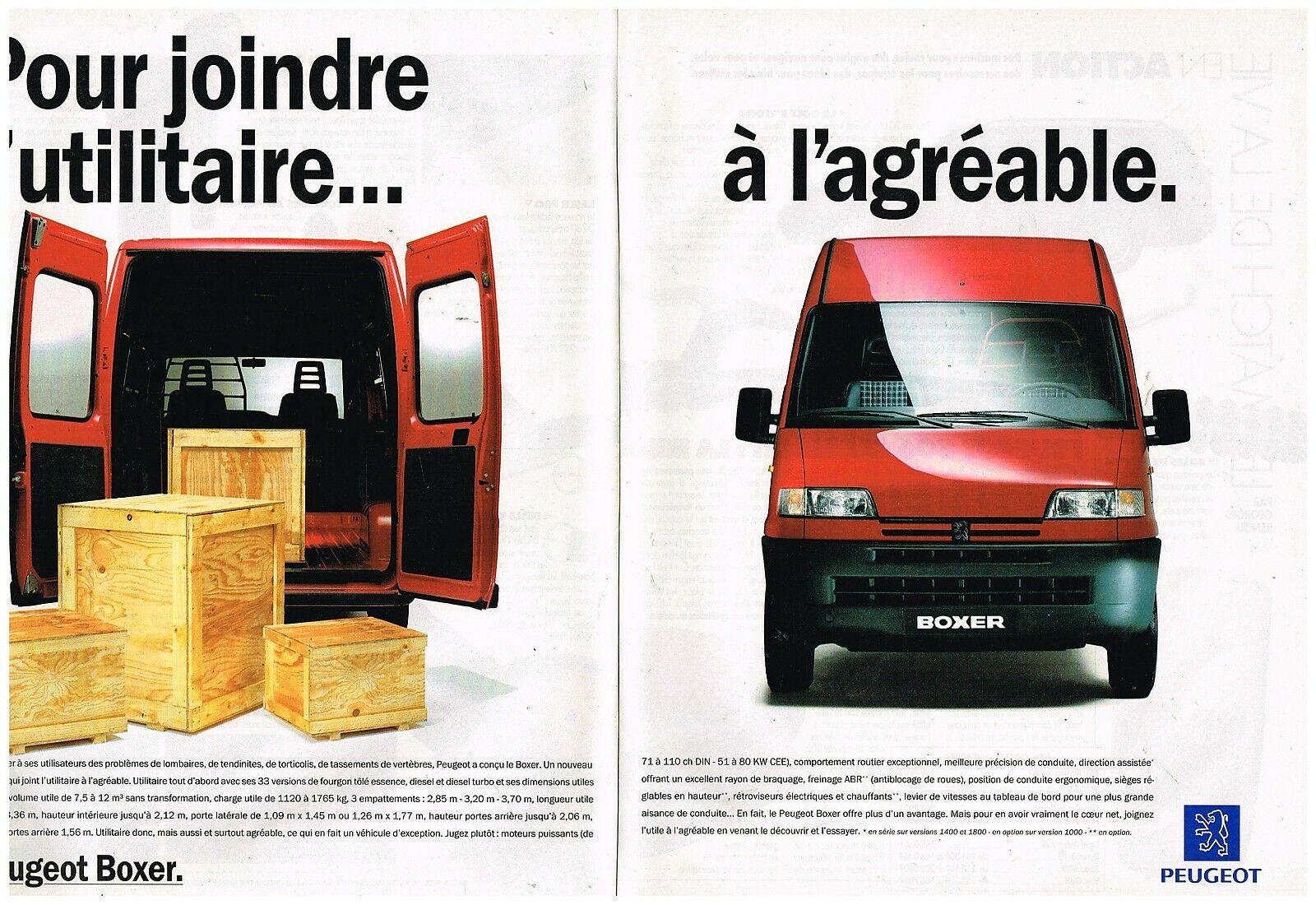 1994 Peugeot Utilitaire Boxer