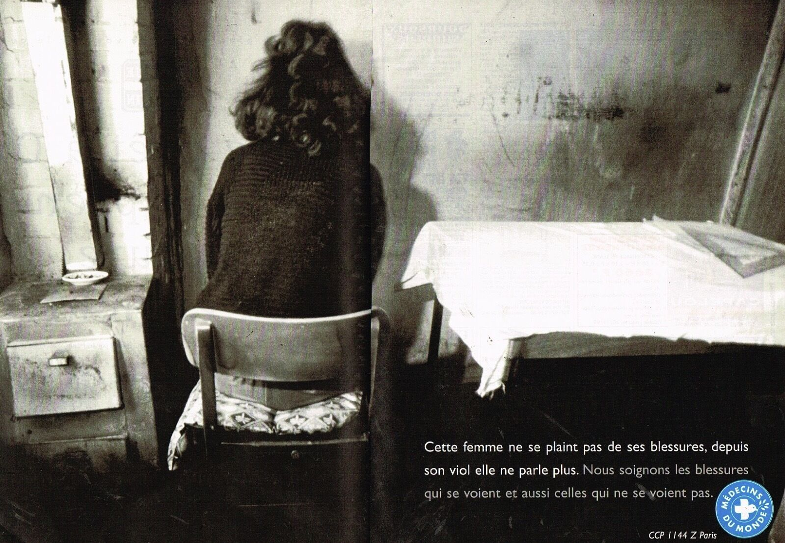 1995 Medecins du Monde par Sophie Elbaz