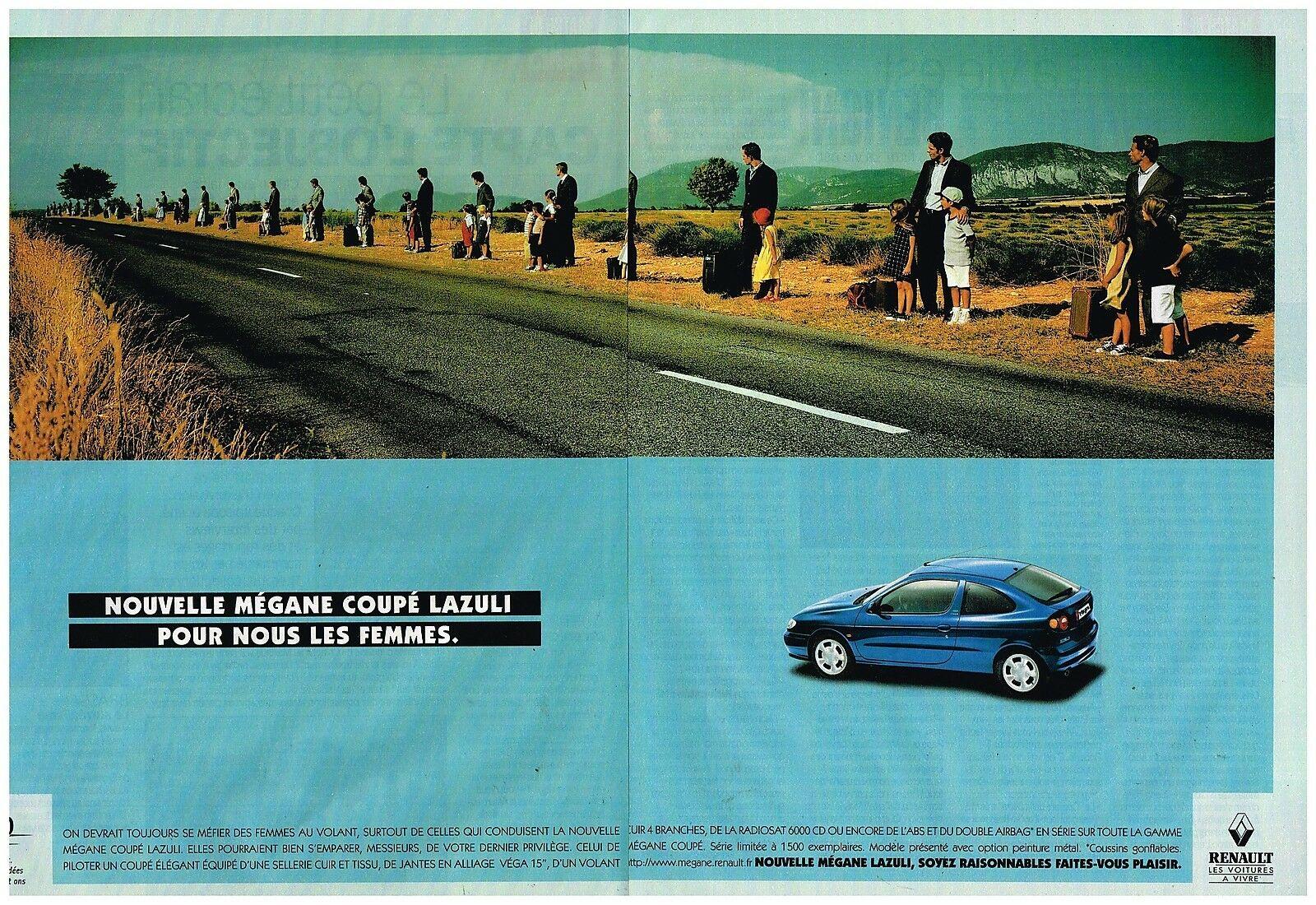 1998 Renault Megane coupé Lazuli