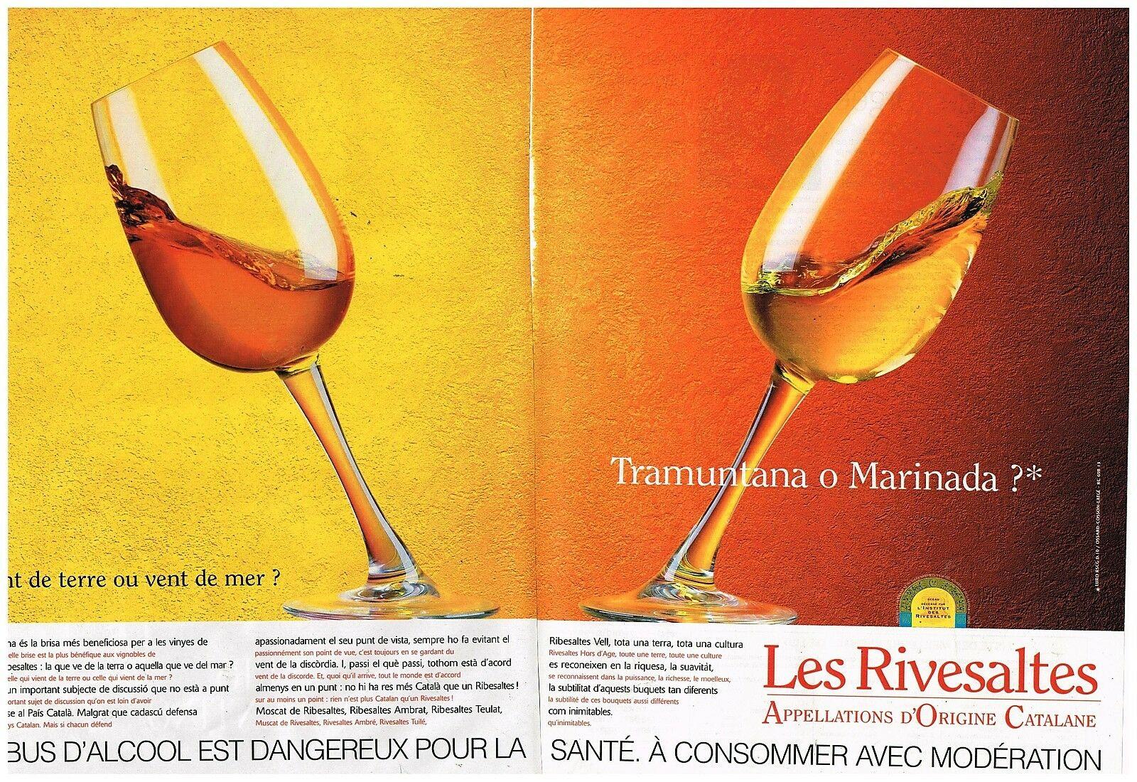 1998 Vins aperitif Les Rivesaltes