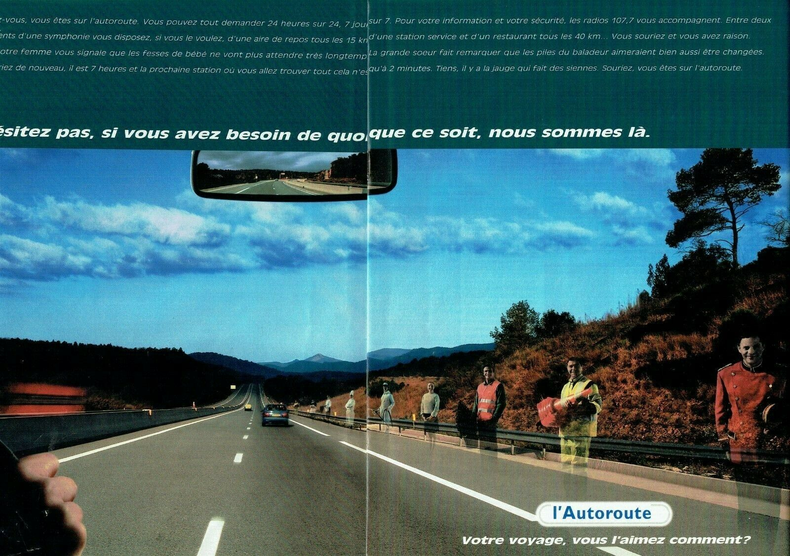 1998 l'Autoroute 24 h -24 h