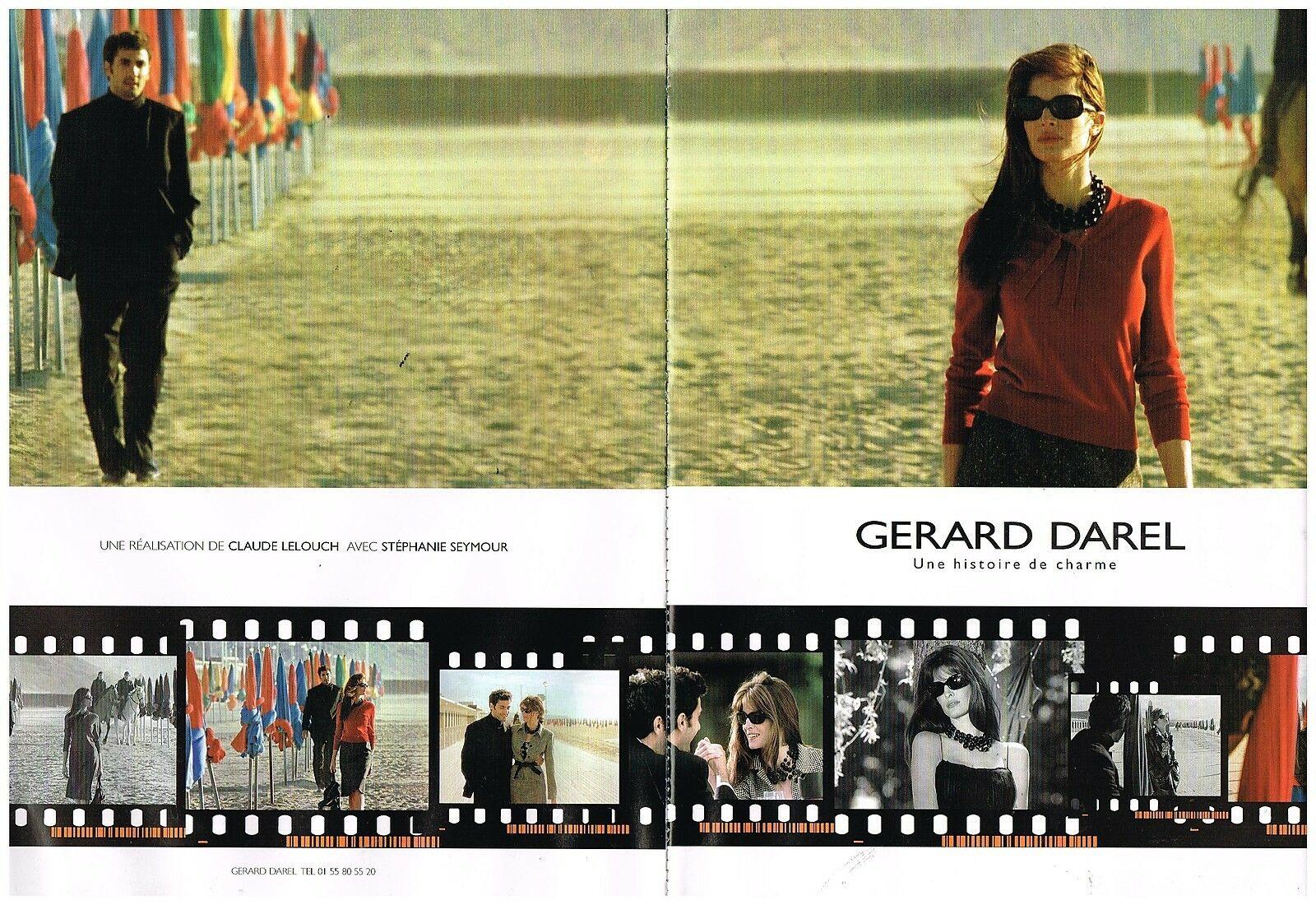 2000 PaP Gerard Darel avec Stephanie Seymour