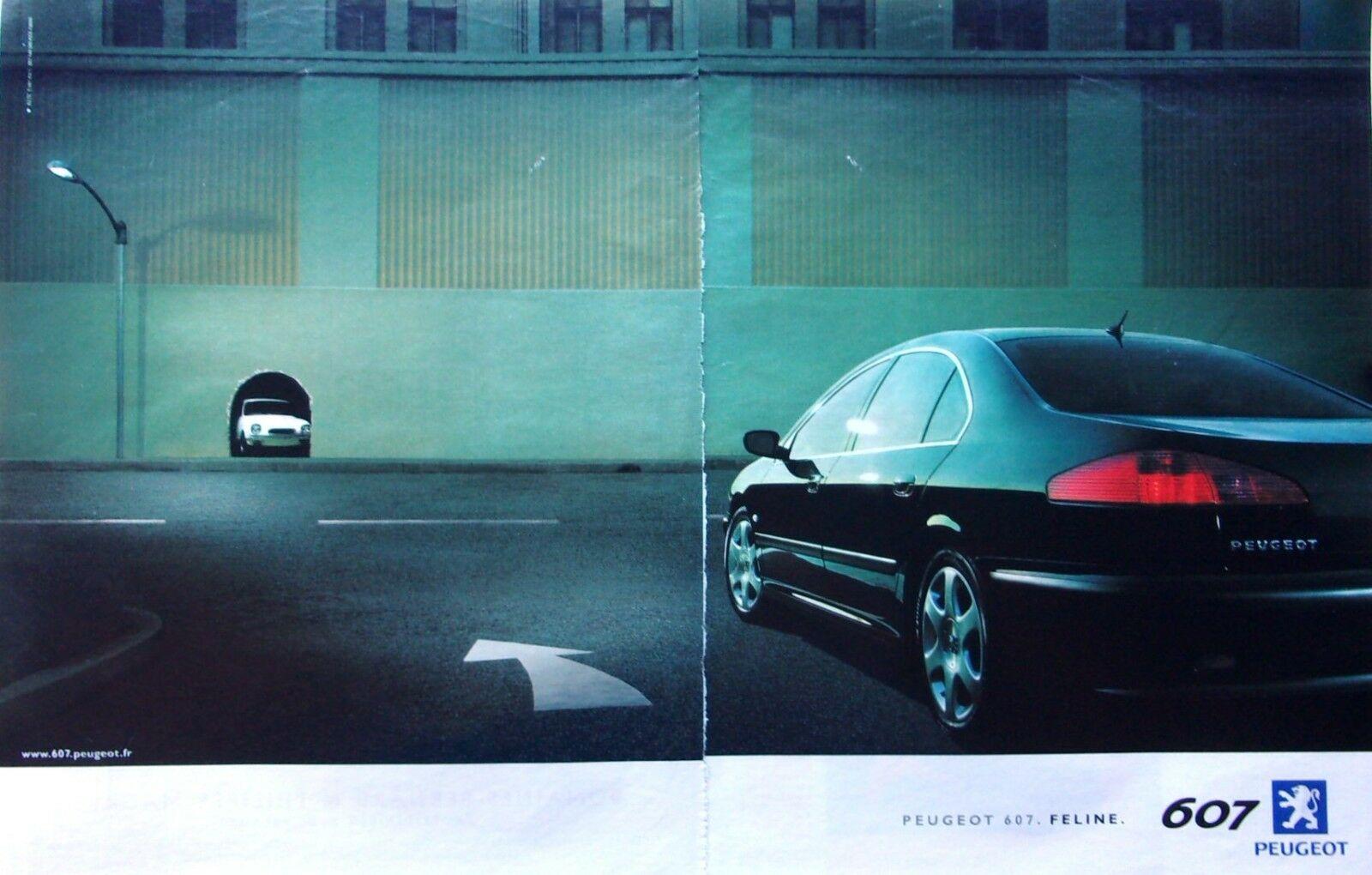 2000 Peugeot 607 B2