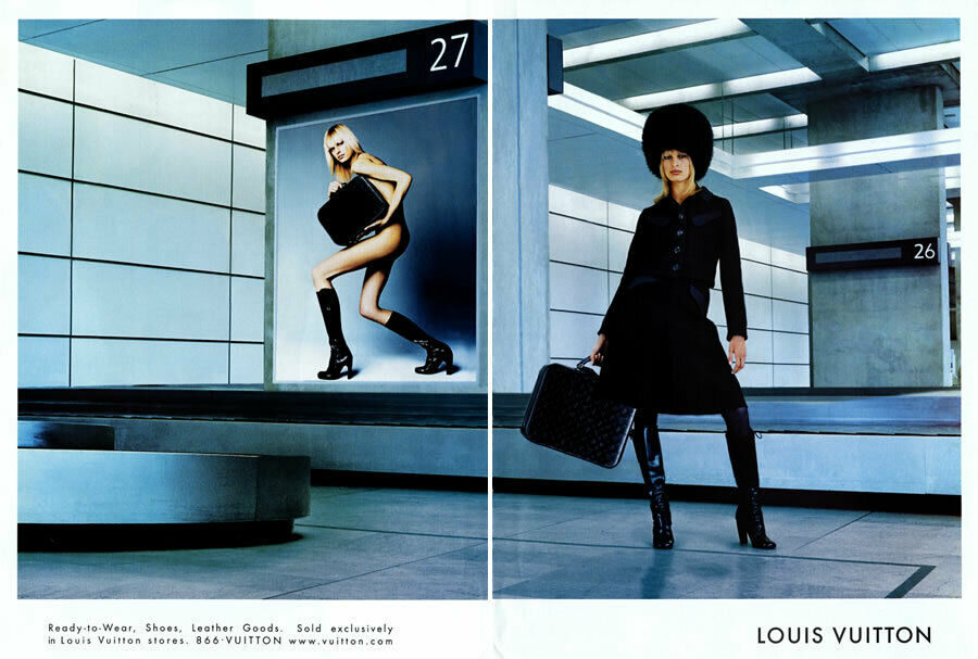 2001 Louis Vuitton Karolina Kurkova