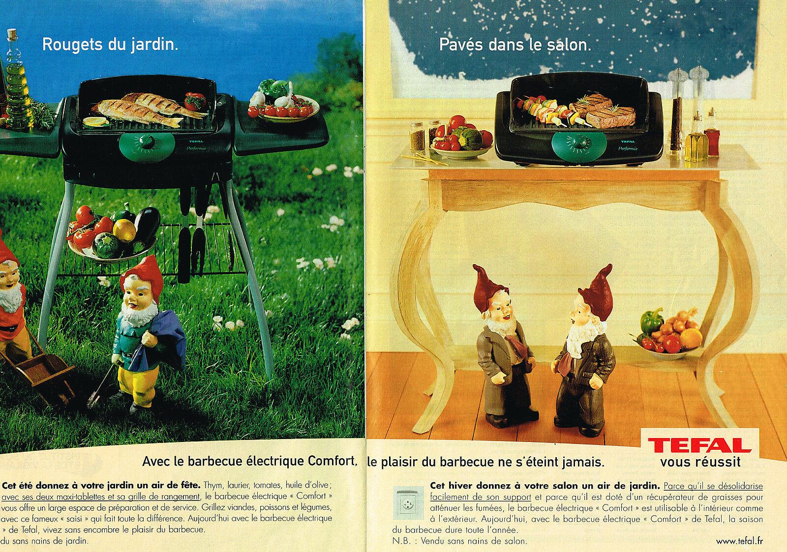 2001 TEFAL barbecue electrique