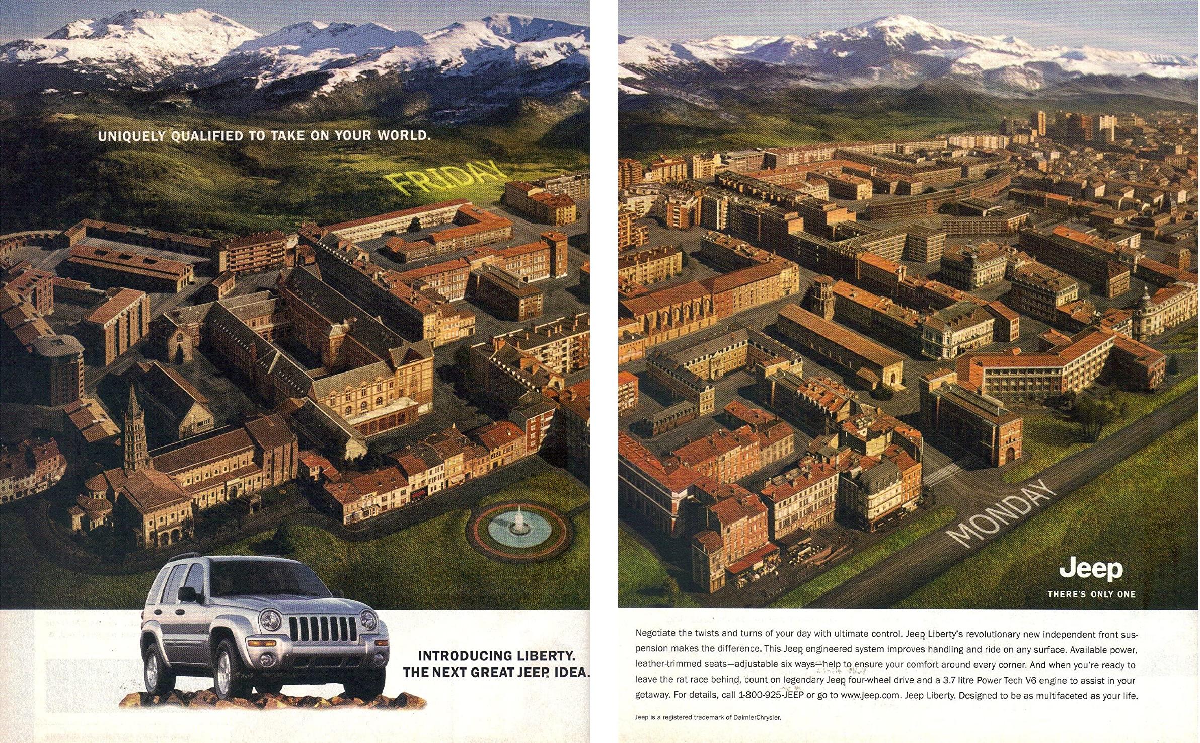 2002 Jeep Liberty Specialement qualifiee pour affronter votre monde