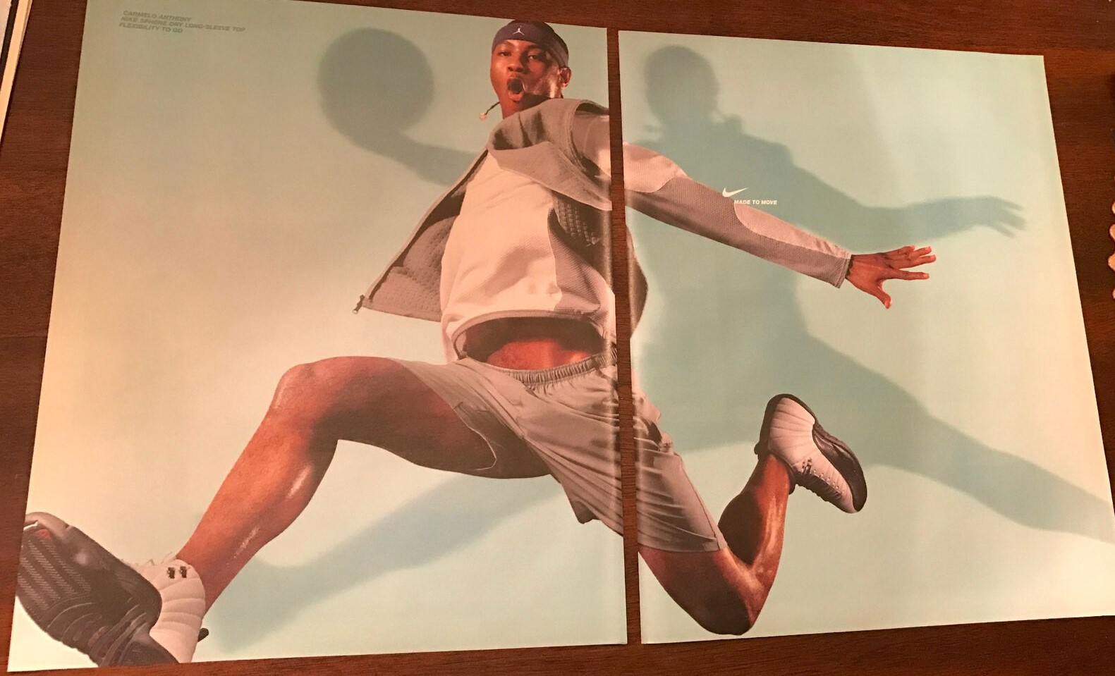 2003 NIKE SPHERE TOP CARMELO ANTHONY