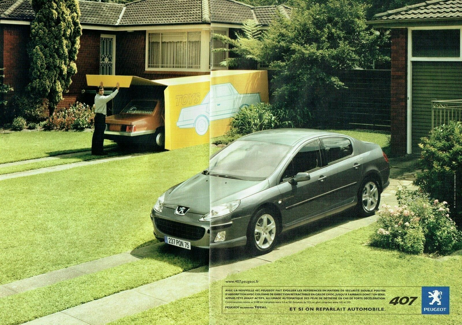 2004 Peugeot 407 A1