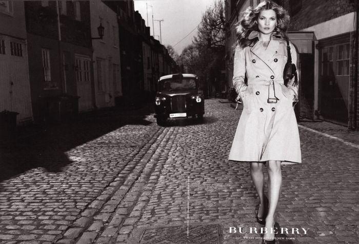 2005 Burberry avec Kate Moss