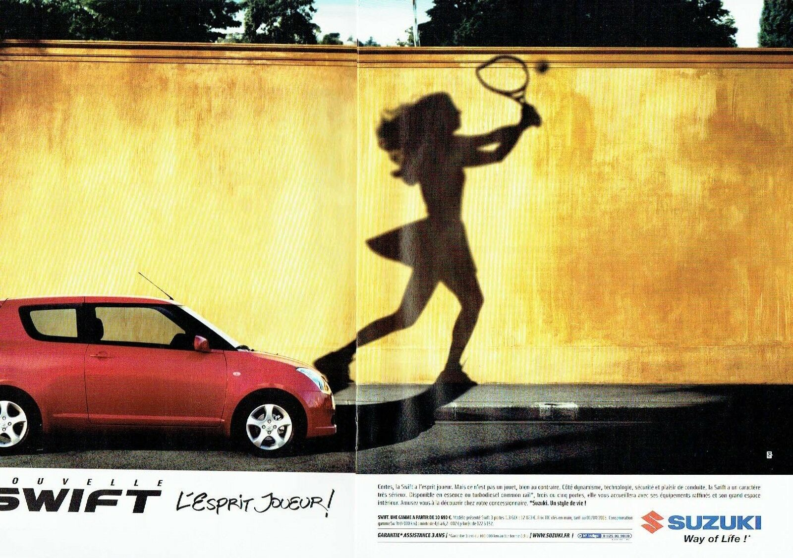2005 nouvelle Swift Suzuki A2