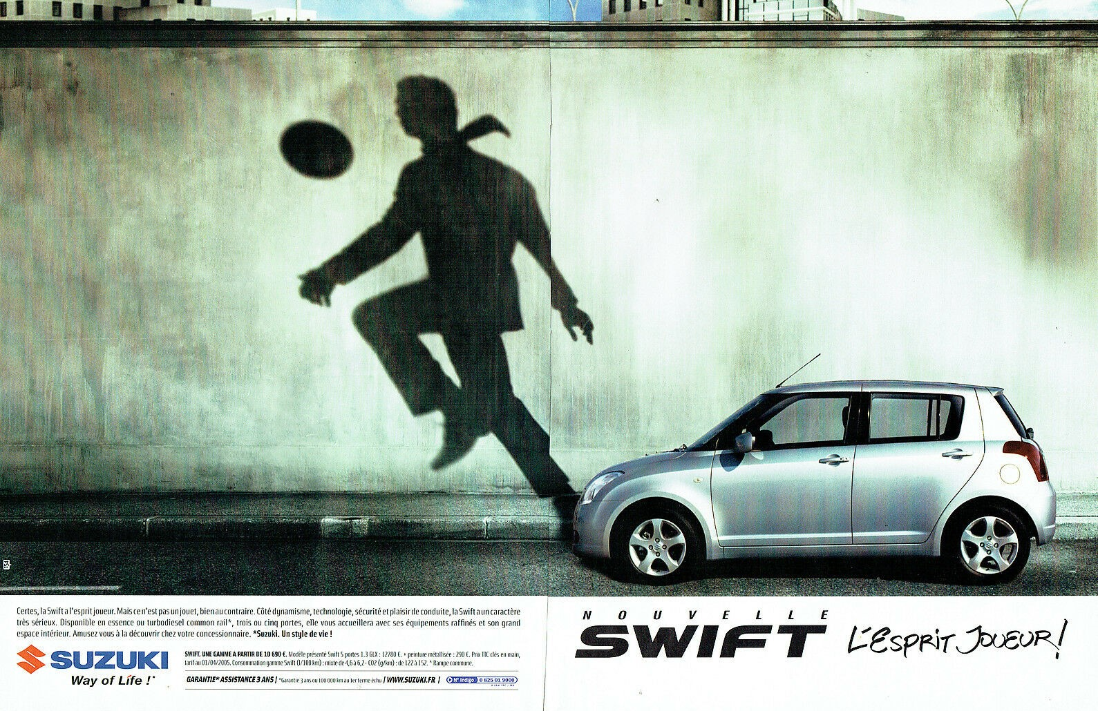 2005 nouvelle Swift Suzuki