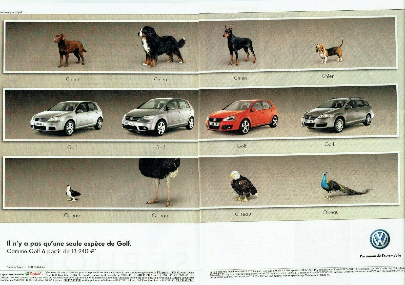 2007 Volkswagen gamme Golf