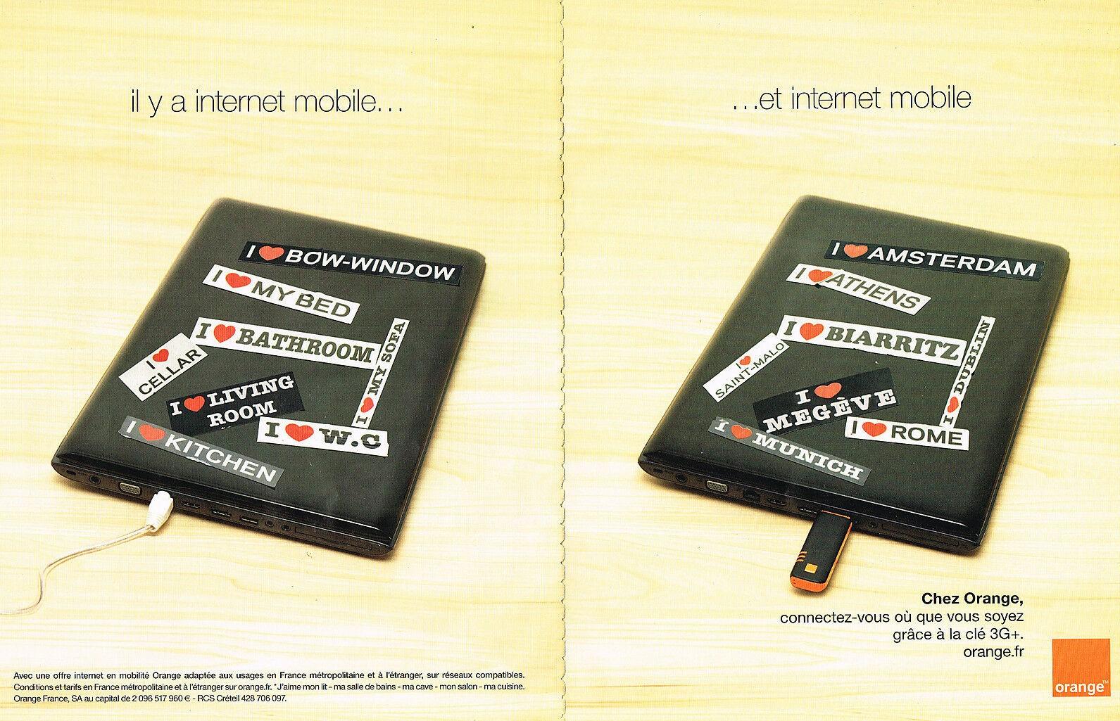 2009 ORANGE internet mobile
