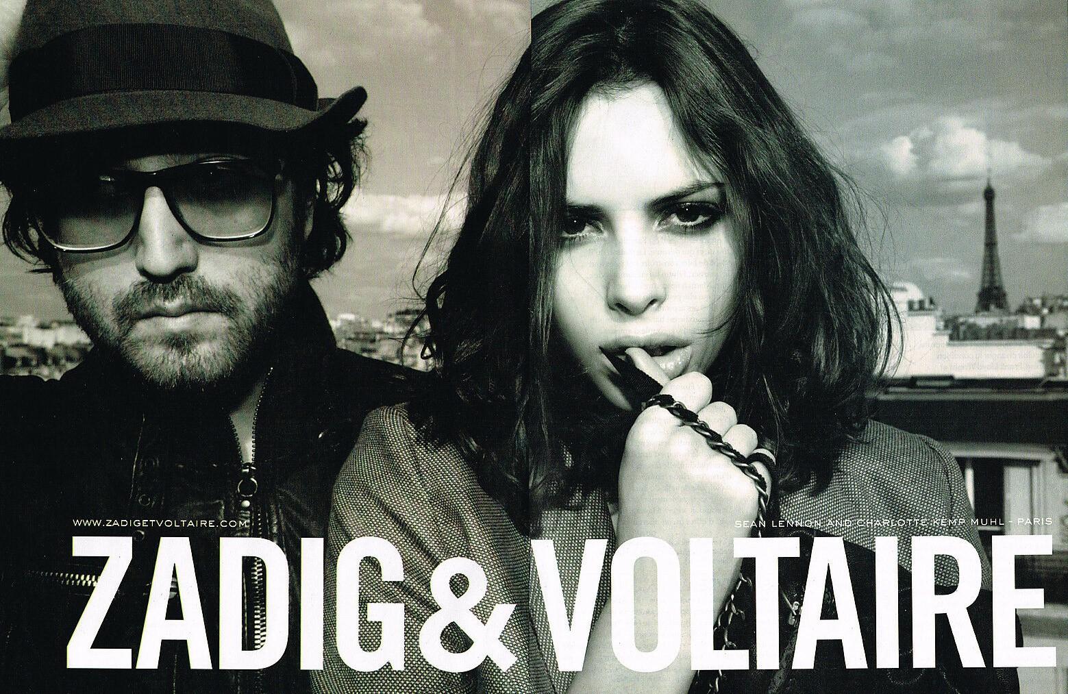 2009 Zadig et Voltaire Sean Lennon Charlotte Kemp A2