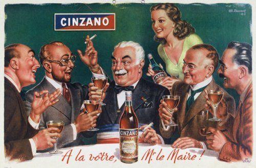 Cinzano, Charles Lemmel, 1945