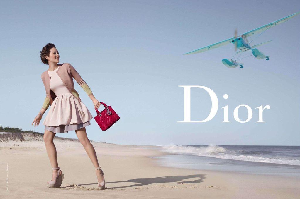 Dior 2012 Marion Cotillard Jean-Baptiste Mondino Hamptons