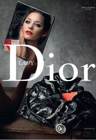 Dior B 2009 Marion Cotillard Annie Leibovitz Lady Red New York solo