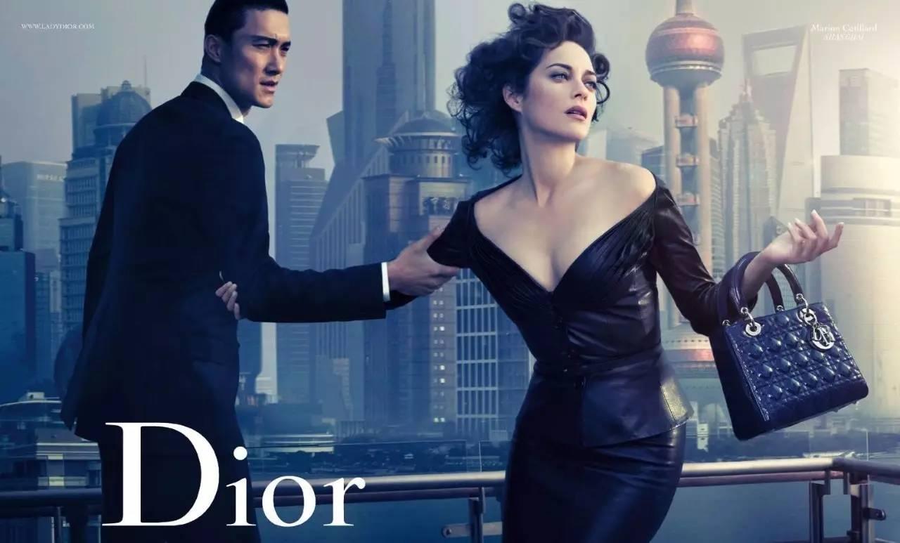 Dior C 2010 Marion Cotillard C Steven Klein lady blue-shanghai
