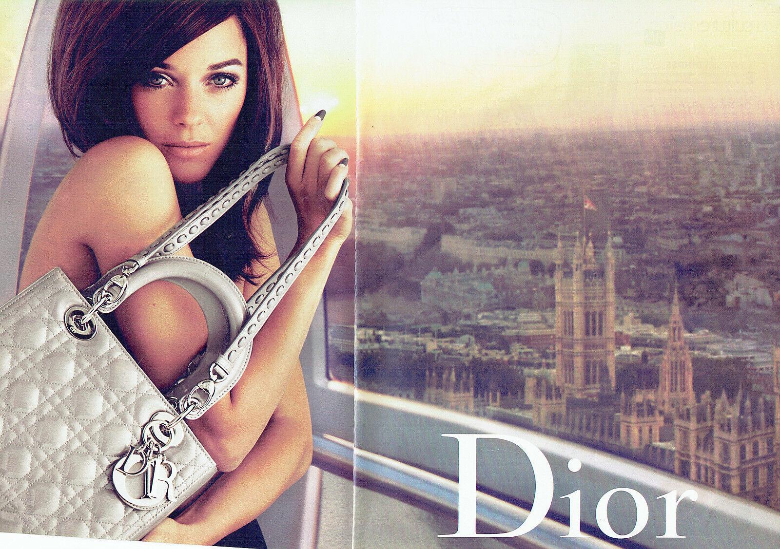 Dior D 2010 Marion Cotillard Mert Alas et Marcus Piggott Londres Grande Roue gros plan