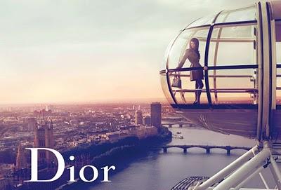 Dior D 2010 Marion Cotillard Mert Alas et Marcus Piggott Londres Grande Roue
