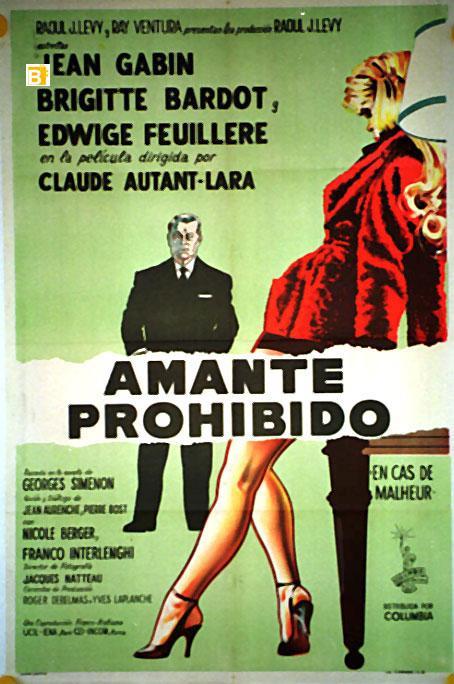 En cas de malheur 1958 Argentine