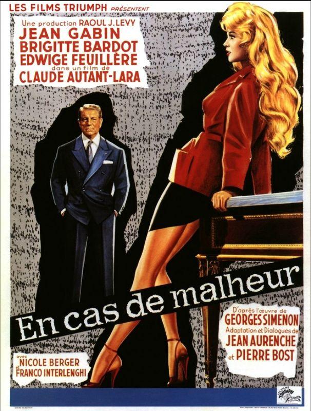 En cas de malheur 1958 France A