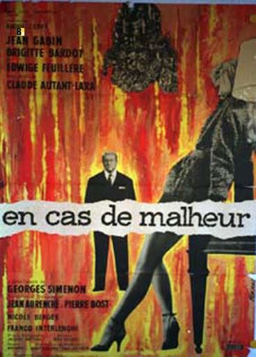 En cas de malheur 1958 France C