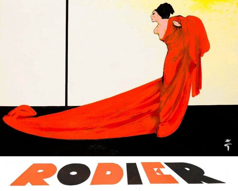 Gruau 1953 textiles Rodier A