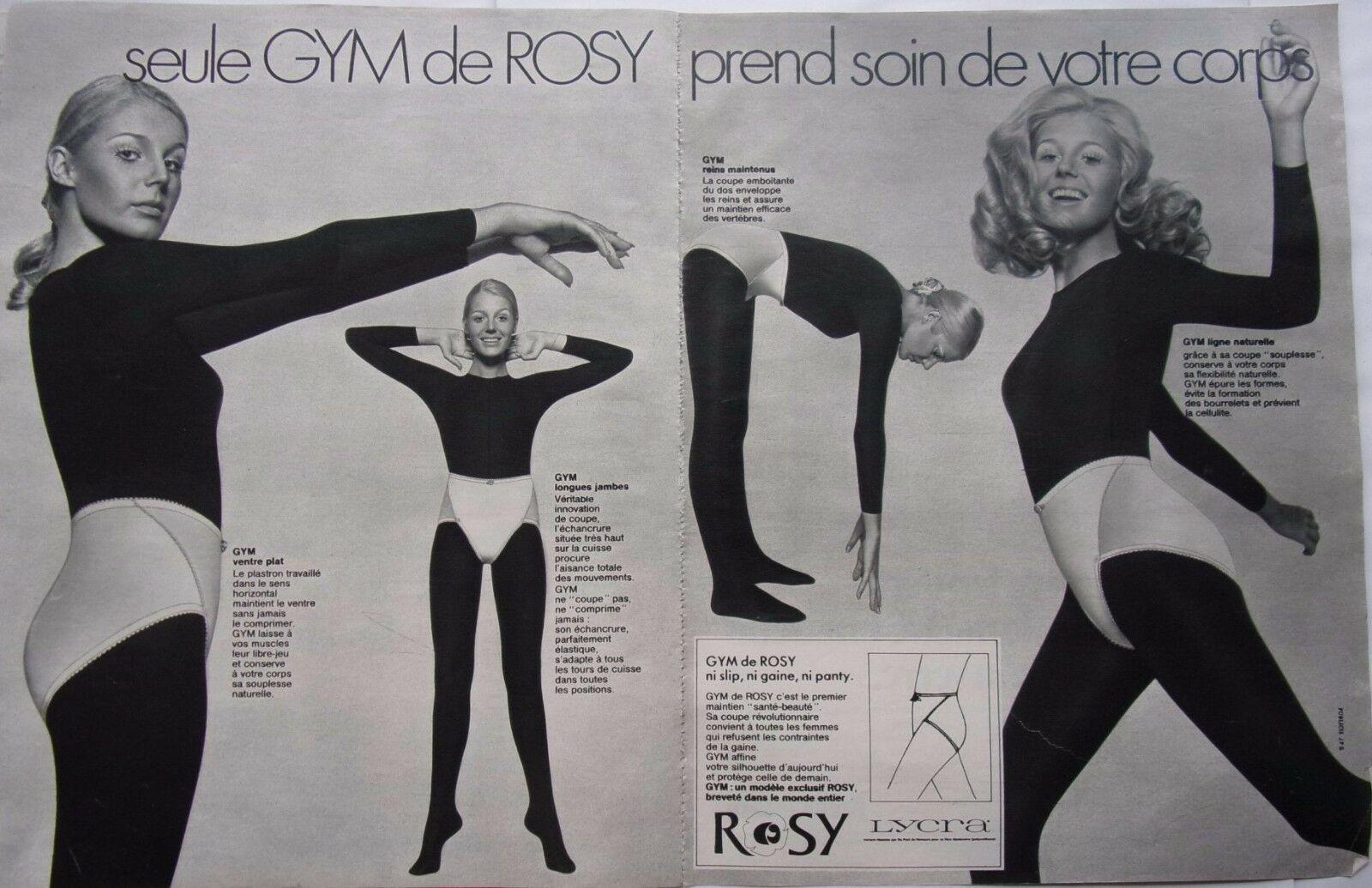 Gym Rosy 1970