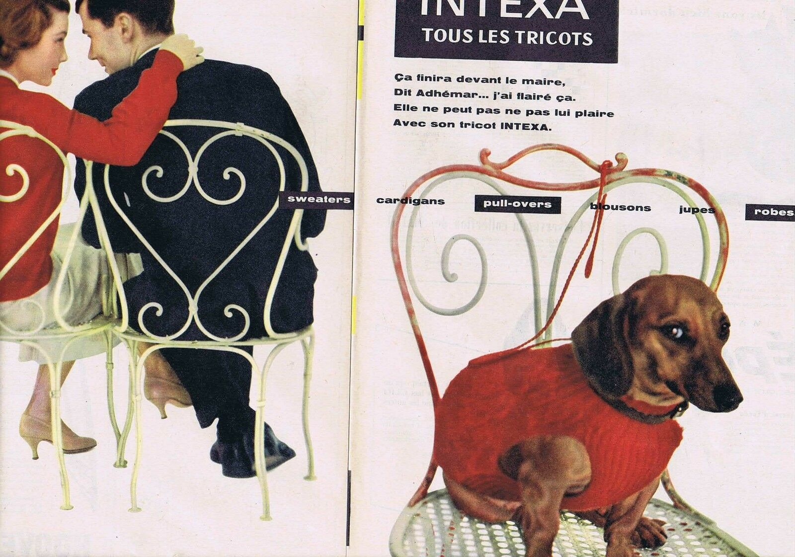 INTEXA tous les tricots 1956