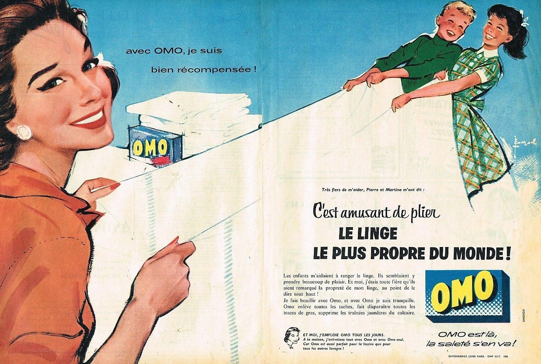 Lessive OMO 1957 B